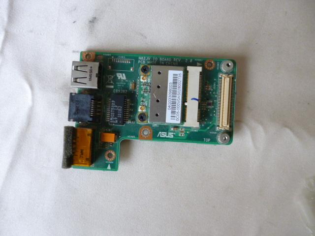 华硕无线网线接口板USB接口板维修